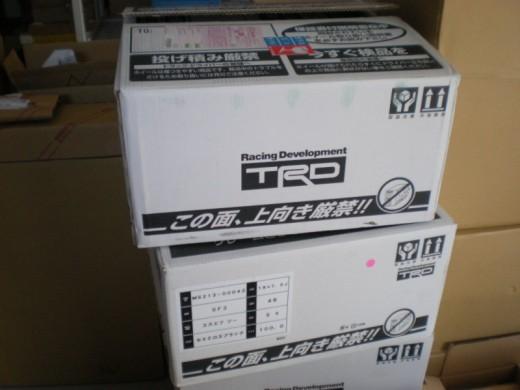 TRD鍛造18インチホイール