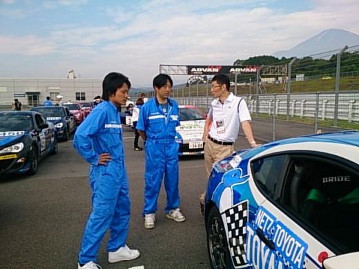 GAZOO Racing 86/BRZレース どきどきの予選編