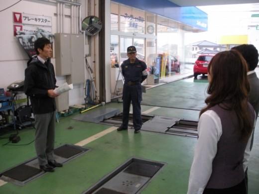 防災訓練 in 魚津店