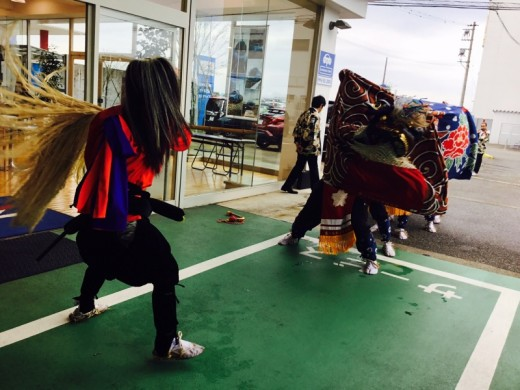 獅子舞in富山西店