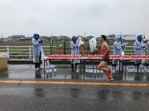 富山マラソン(応援…)